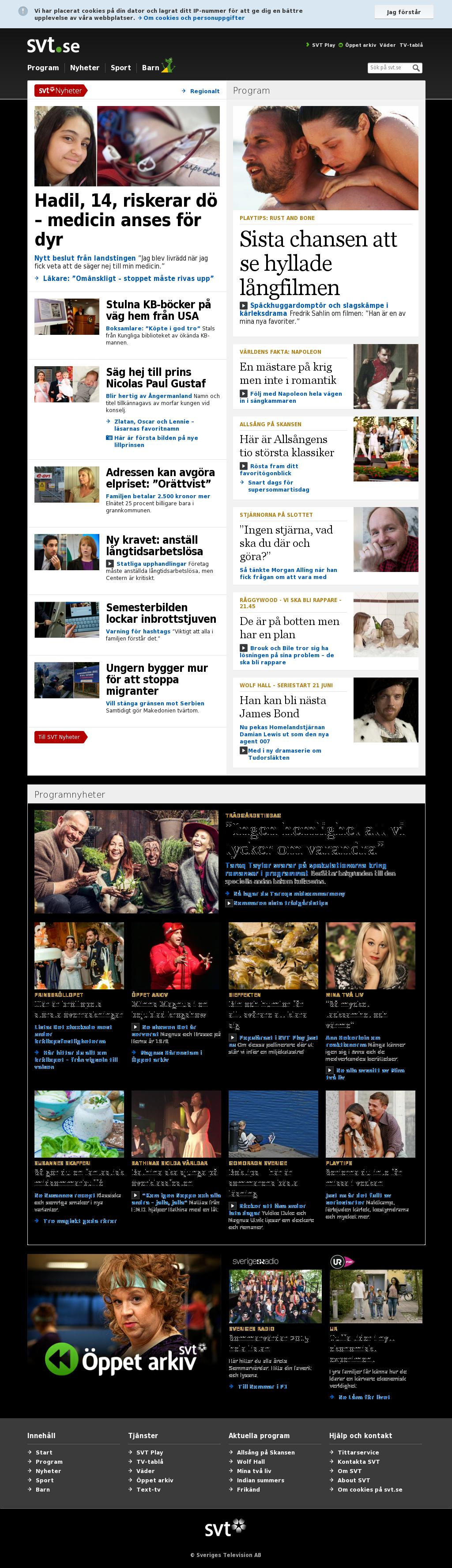 SVT at Wednesday June 17, 2015, 7:27 p.m. UTC