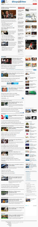 Chicago Tribune at Thursday Jan. 30, 2014, 7:02 p.m. UTC