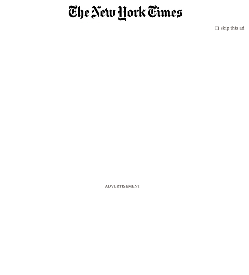 The New York Times at Thursday May 3, 2012, 3:09 a.m. UTC