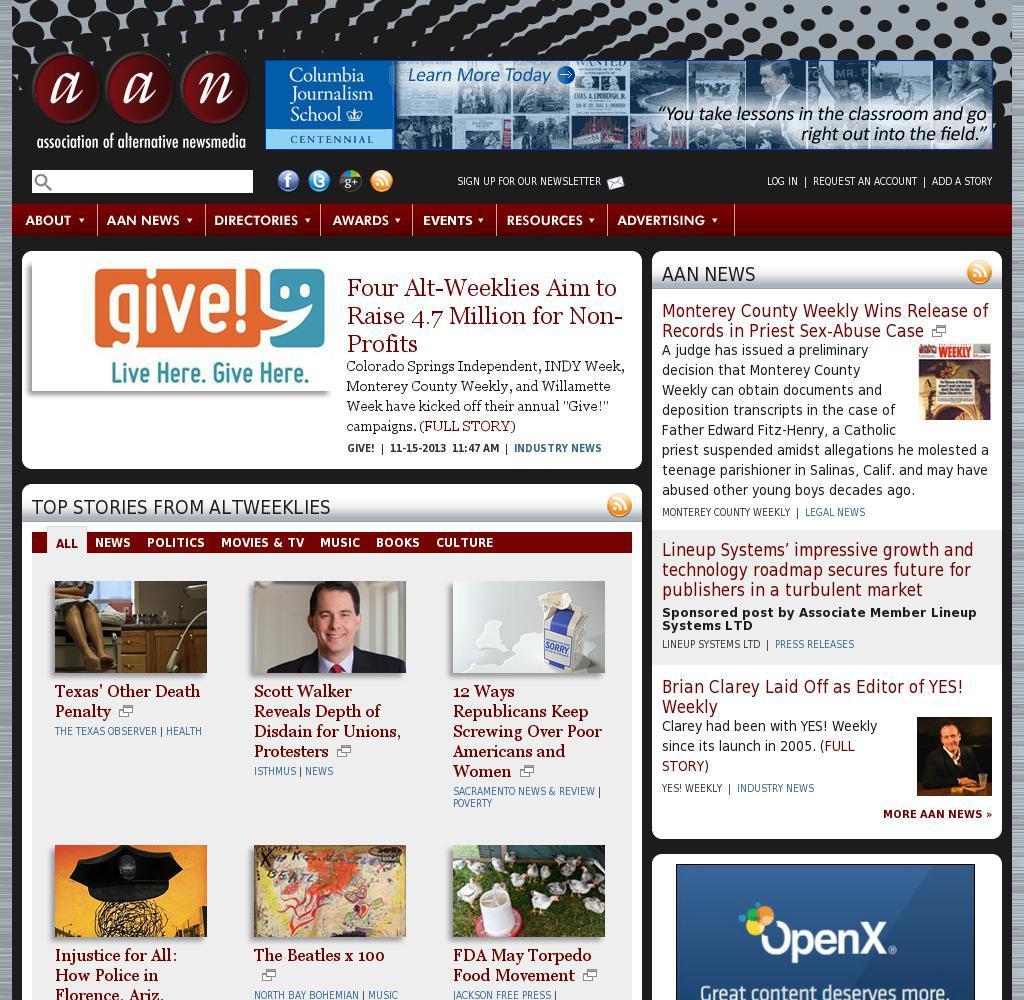 Association of Alternative Newsmedia