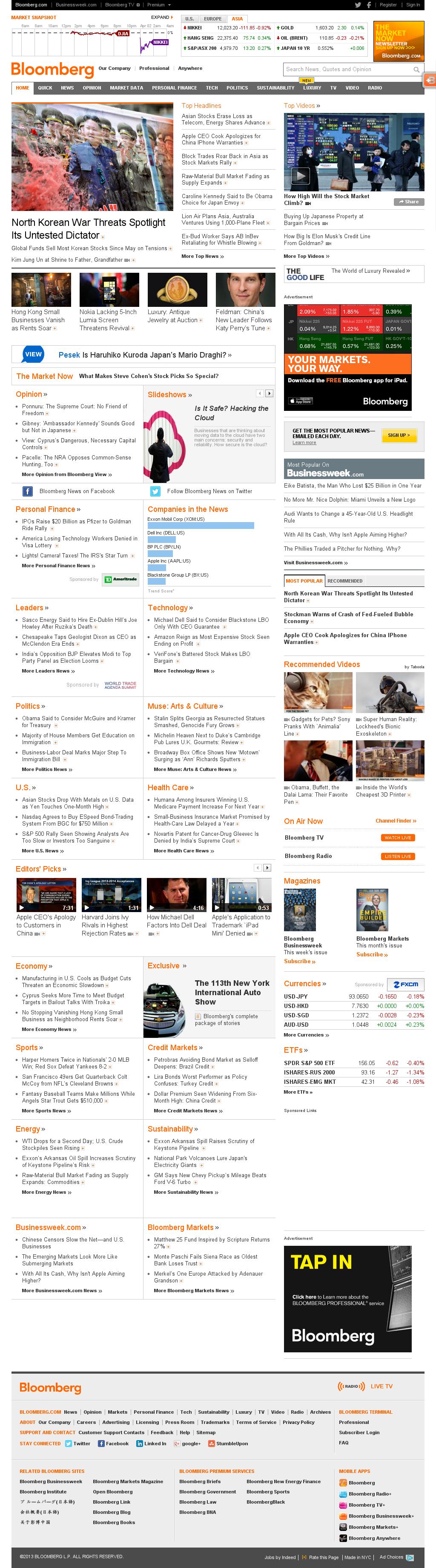 Bloomberg at Tuesday April 2, 2013, 2:01 a.m. UTC