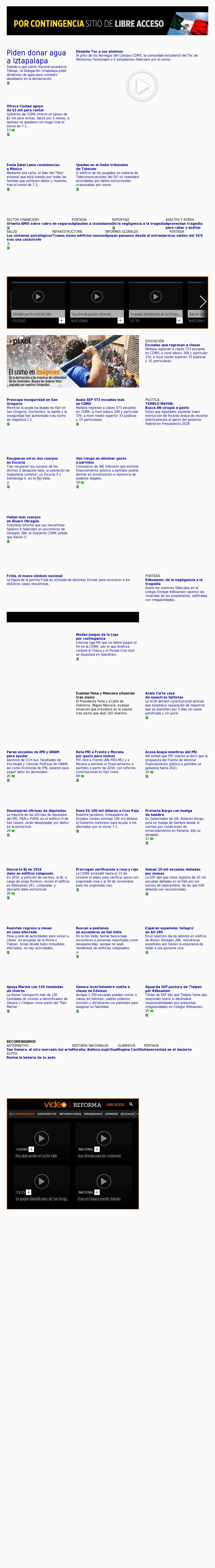 Reforma.com at Tuesday Sept. 26, 2017, 3:19 a.m. UTC